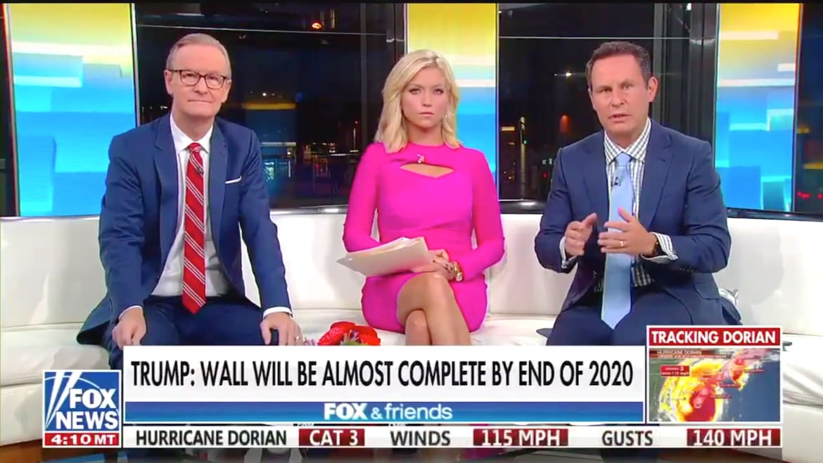 'Fox & Friends' Host Brian Kilmeade: Trump 'Never Should Have Said' Mexico Would Pay for Wall
