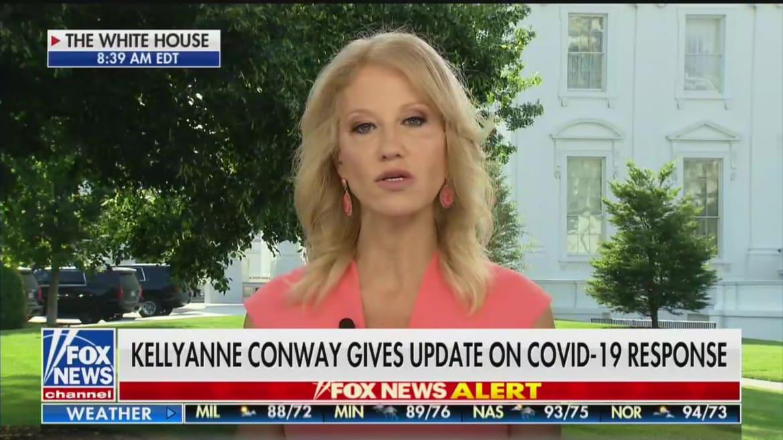 Kellyanne Conway Urges Trump to Resume Coronavirus Briefings to Boost Approval Ratings