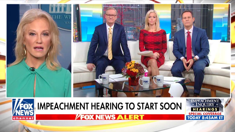'Fox & Friends' Host Presses Kellyanne Conway: Is Rudy Giuliani Working for Trump or Himself?