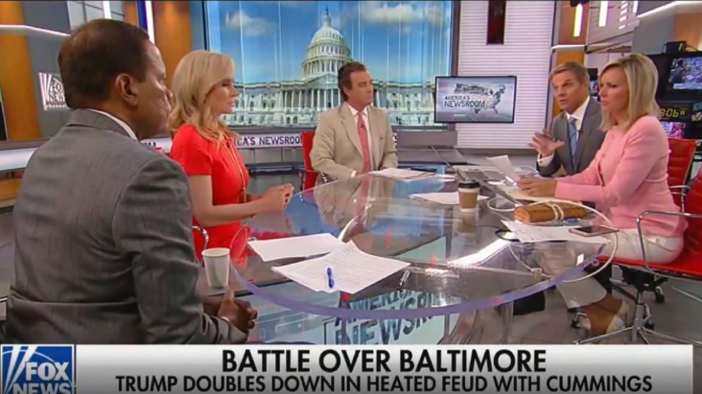 Fox News Anchor Tells Lone Black Panelist to Stop Thinking Trump Is Racist
