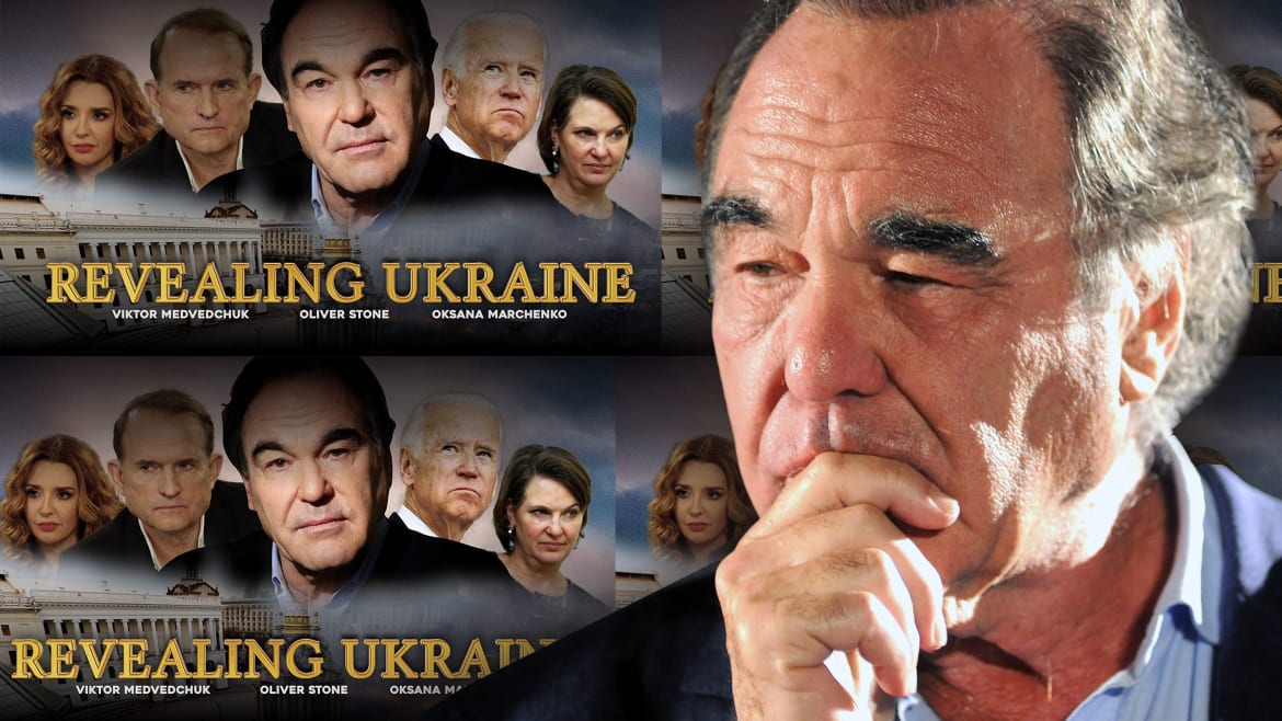 Oliver Stone's Latest Piece of Pro-Putin Propaganda May Be His Most Shameless Move Yet
