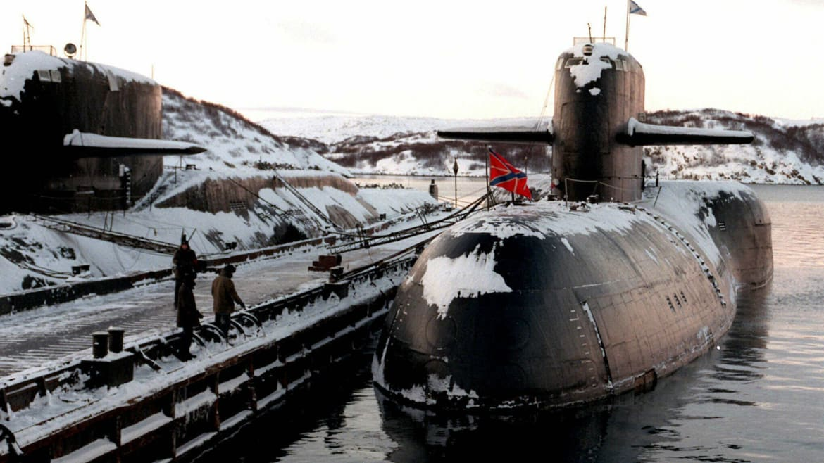 What Was That Secret Russian Sub Doing Before It Caught Fire?