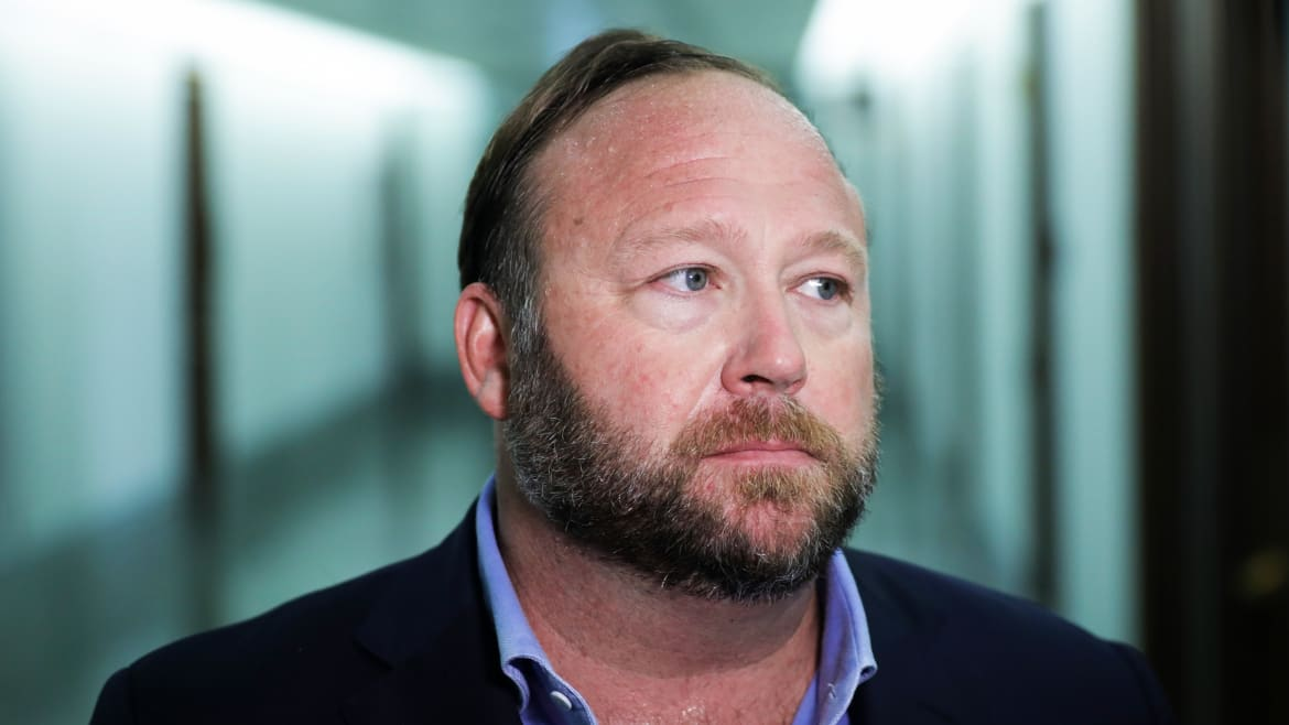 Alex Jones and InfoWars Ordered to Pay $100K in Court Costs for Sandy Hook Case