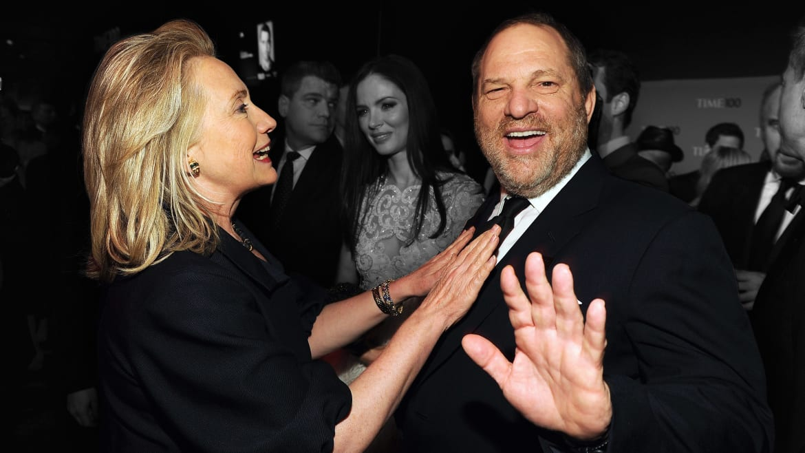We Need to Talk About Hillary Clinton's Disturbing Harvey Weinstein Ties