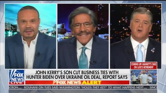 Sean Hannity: 'Let Me Cry a River for Joe Biden's Family!'