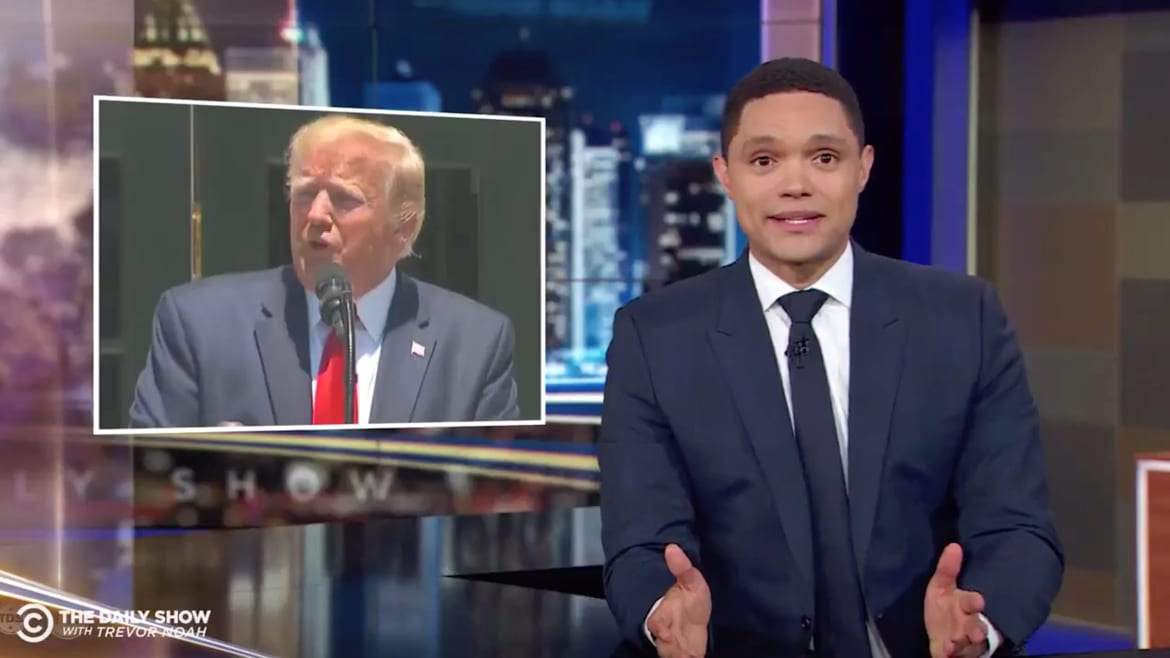 Trevor Noah Compares Trump to Hitler After Racist Tweets Against Congresswomen