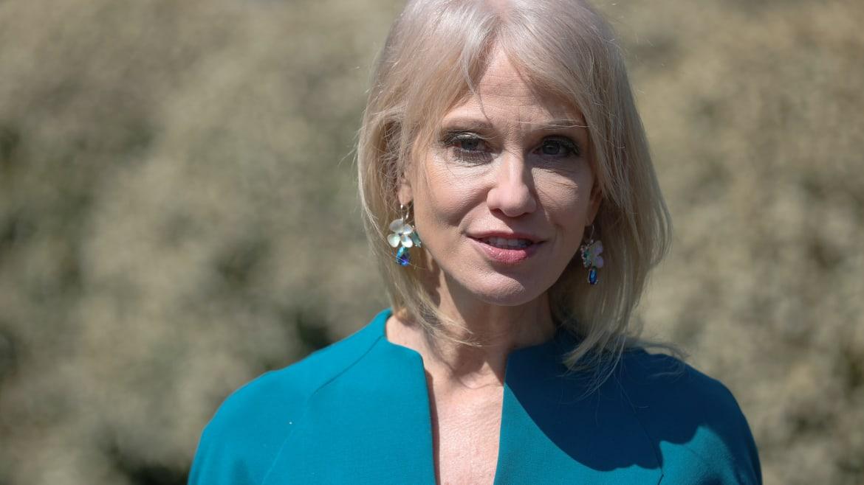 Kellyanne Conway Keeps Attacking Joe Biden for Staying Inside
