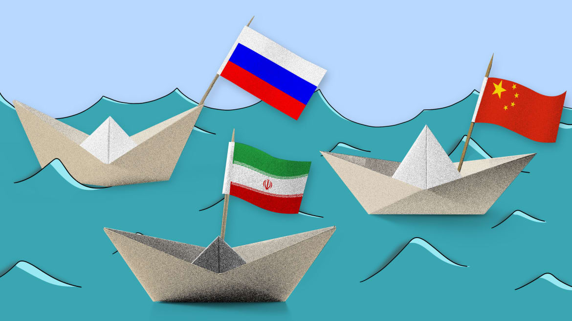 Why Would Russia, China—and Iran—Plan Joint Naval Exercises?