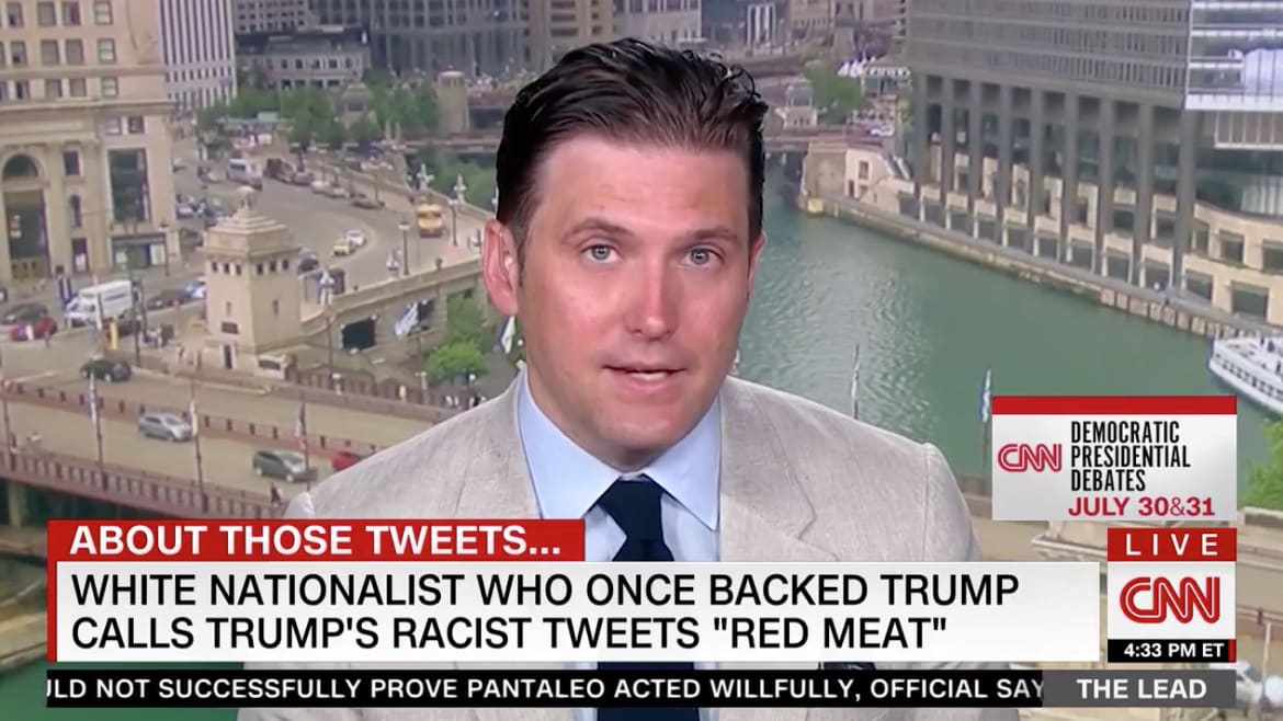 CNN Invites White Supremacist Richard Spencer to Talk About Trump's Racist Tweets