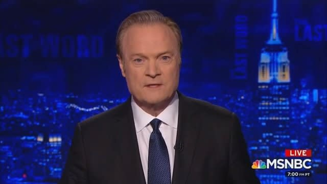 Lawrence O'Donnell Apologizes for Russian Oligarchs Story on Trump: 'I Was Wrong' to Air It