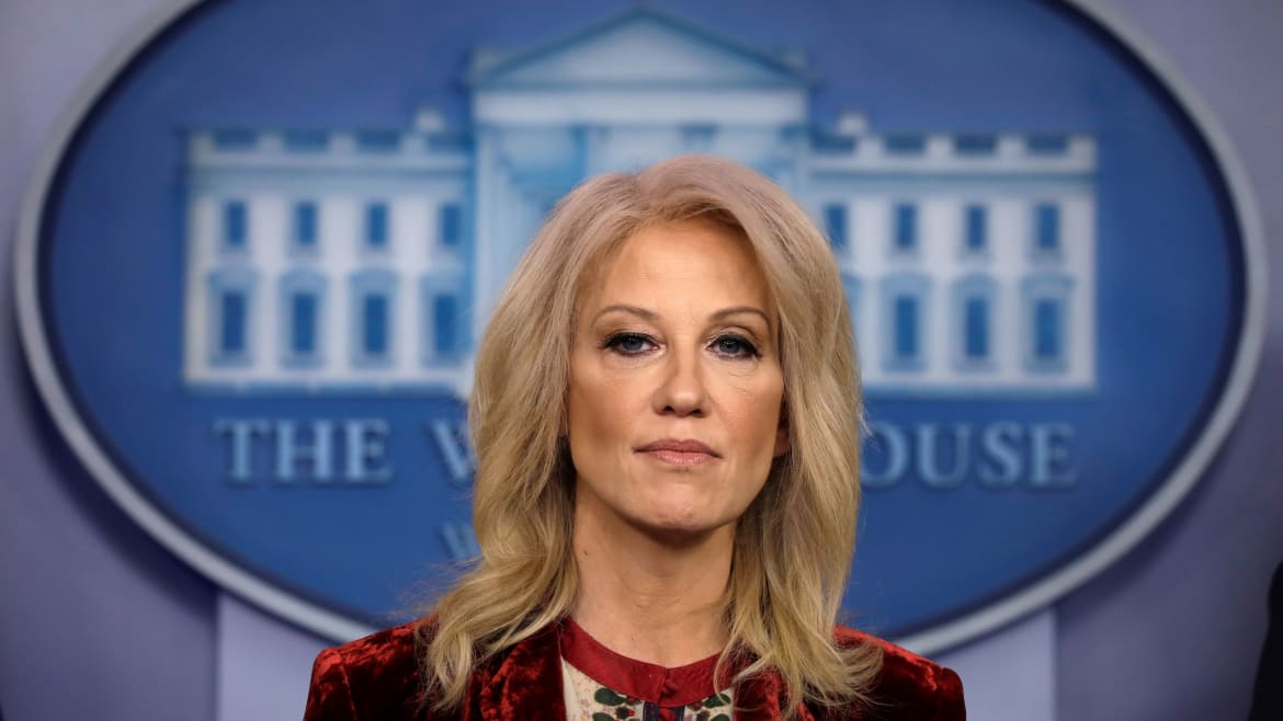Kellyanne Grilled on Bolton Bombshells During Rare Press Briefing