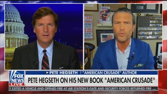 Tucker Carlson and Pete Hegseth Try to Bring 'Kung Flu' Back