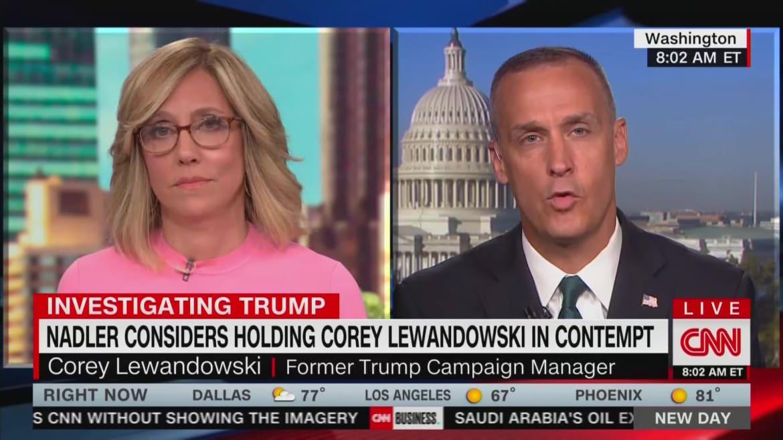 CNN Brings on Corey Lewandowski, a Known Liar, for Totally Batshit Interview
