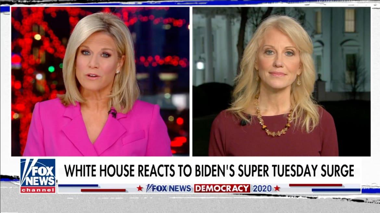 Fox News Host Grills Kellyanne Conway: Is Trump Scared of Biden?