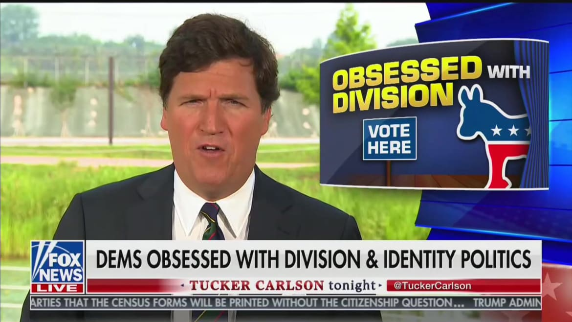 Tucker Carlson Defends Don Jr. for Retweeting Birther-Style Kamala Harris Smear