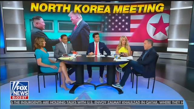 Fox News Hosts Admit They'd Attack Obama for Meeting With Kim Jong Un