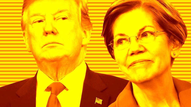 Trumpworld Anxiety Grows Over a Rising Elizabeth Warren