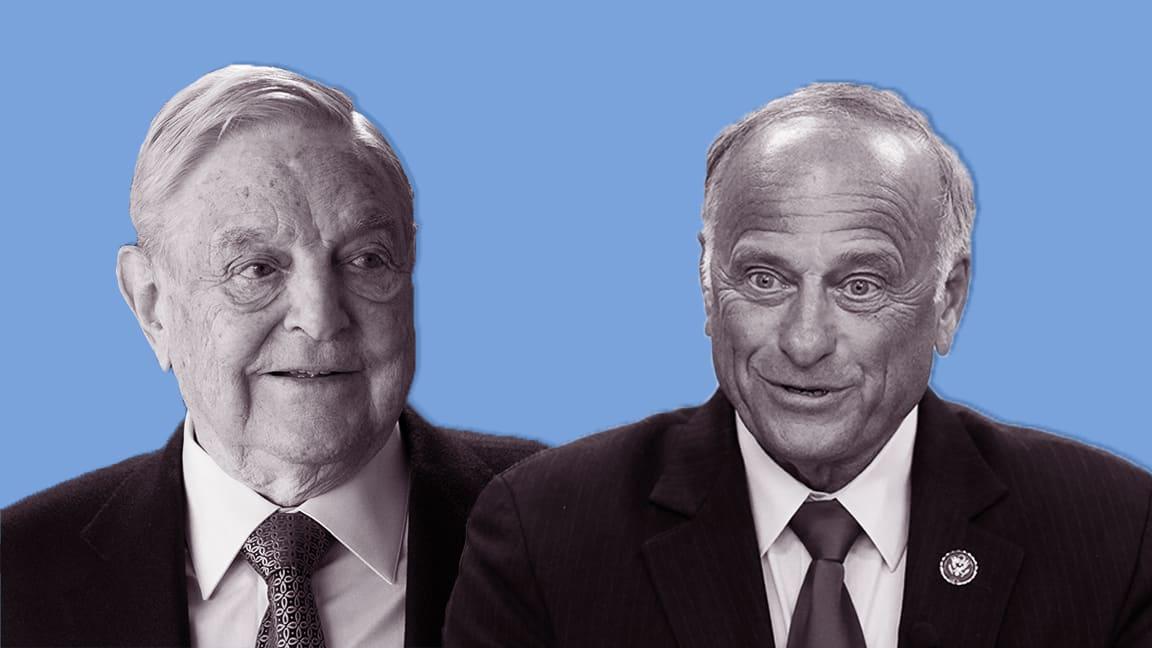Rep. Steve King Falsely IDs George Soros' Son as Whistleblower