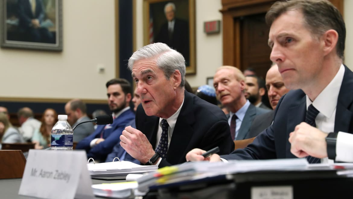 Mueller Tells Congress: FBI 'Currently' Looking Into Issues of Trump Team Blackmail