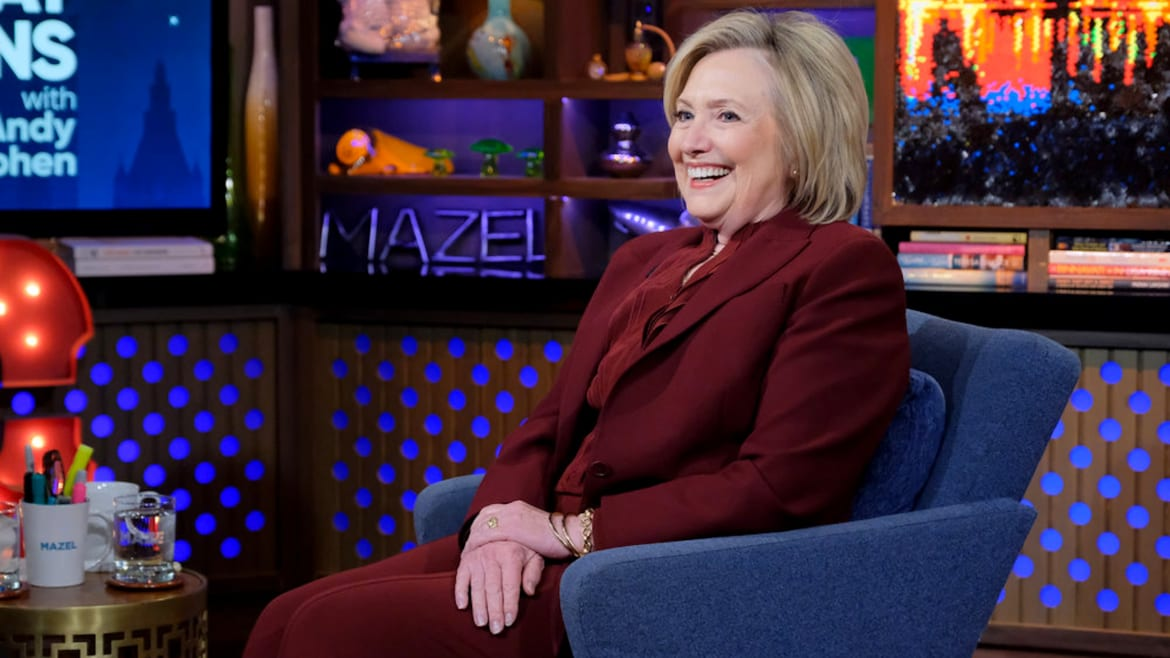 Hillary Clinton Gets Tipsy and Throws Shade at Bernie and Trump on 'Watch What Happens Live'