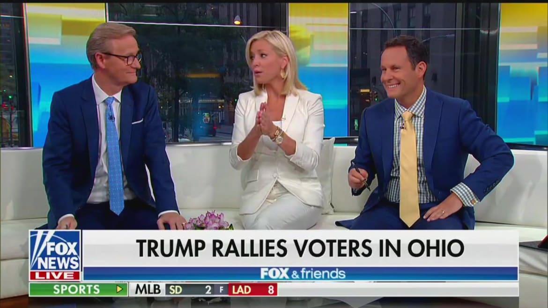Fox News Host Ainsley Earhardt: Trump's a 'Rust Belt' Guy, a 'Blue-Collar' Worker