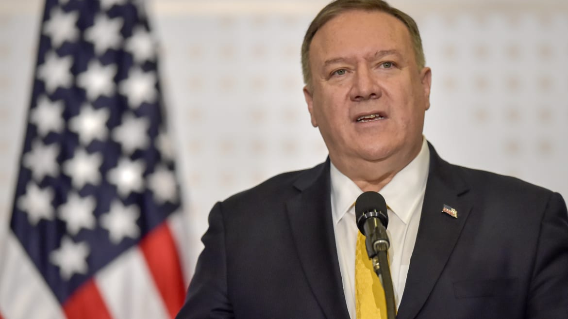 Mike Pompeo Blows Up at NPR Reporter: 'Do You Think Americans Care About Ukraine?'
