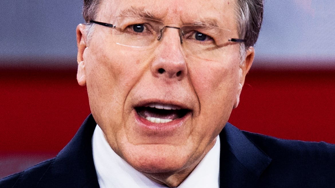 Wayne LaPierre Promised Job Security, Then Ousted an NRA Top Gun