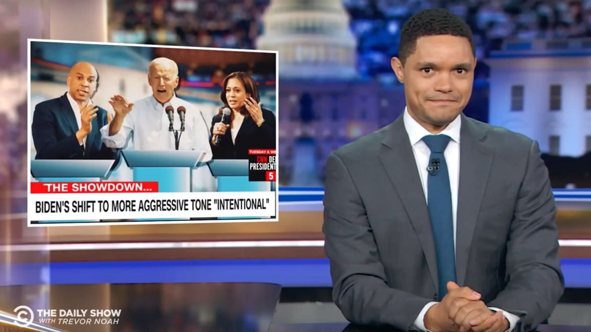 'Daily Show's' Trevor Noah: Wild Dem Debate 'Almost Made Me Miss' Trump