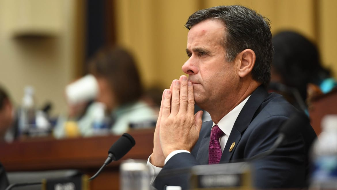 Whistleblower Allegations Surfaced Just Before DNI Pick John Ratcliffe Withdrew