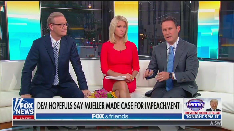 'Fox  Friends' Host Brian Kilmeade: Obstruction Part of Mueller Report Just 'Trump Being Trump'