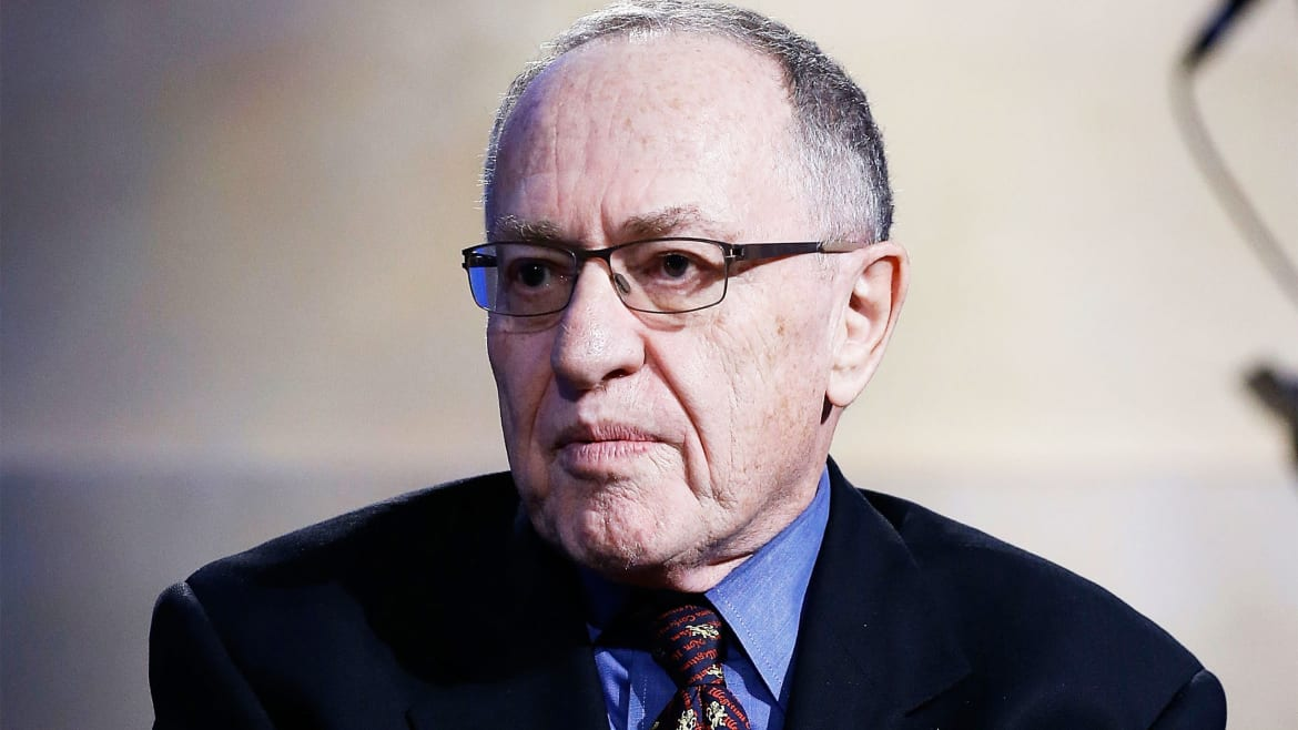 Alan Dershowitz: Unsealed Email and Manuscript Show Epstein Accuser Lied About Sex With Me
