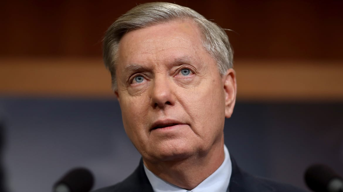 Team Trump Turns to Lindsey Graham to Cut an Iran Deal
