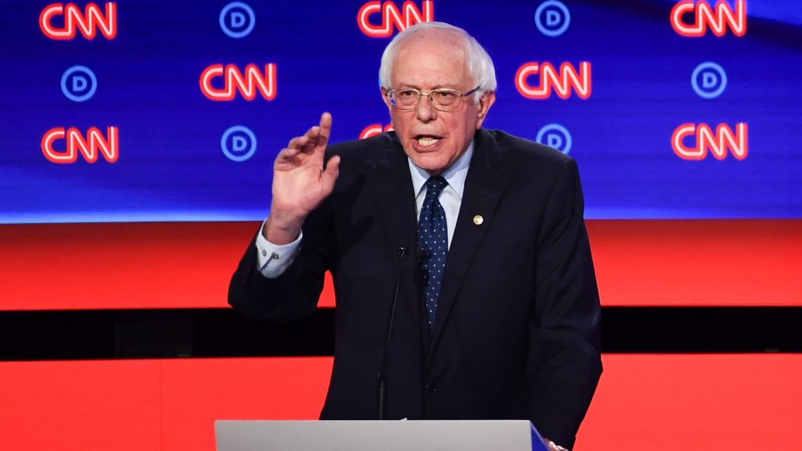 Bernie Sanders Swats Down 'Medicare for All' Critics: 'You're Wrong'