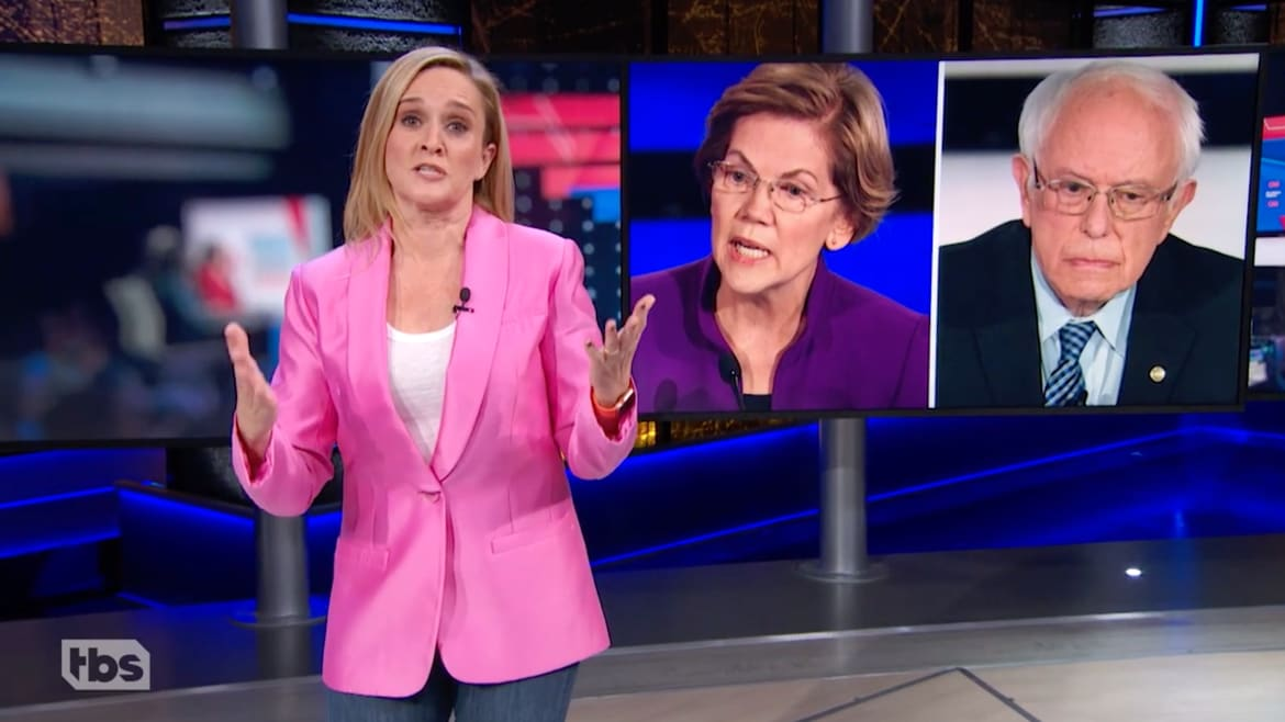 Samantha Bee Goes Off on CNN: Stop Making 'Mom and Dad' Fight!