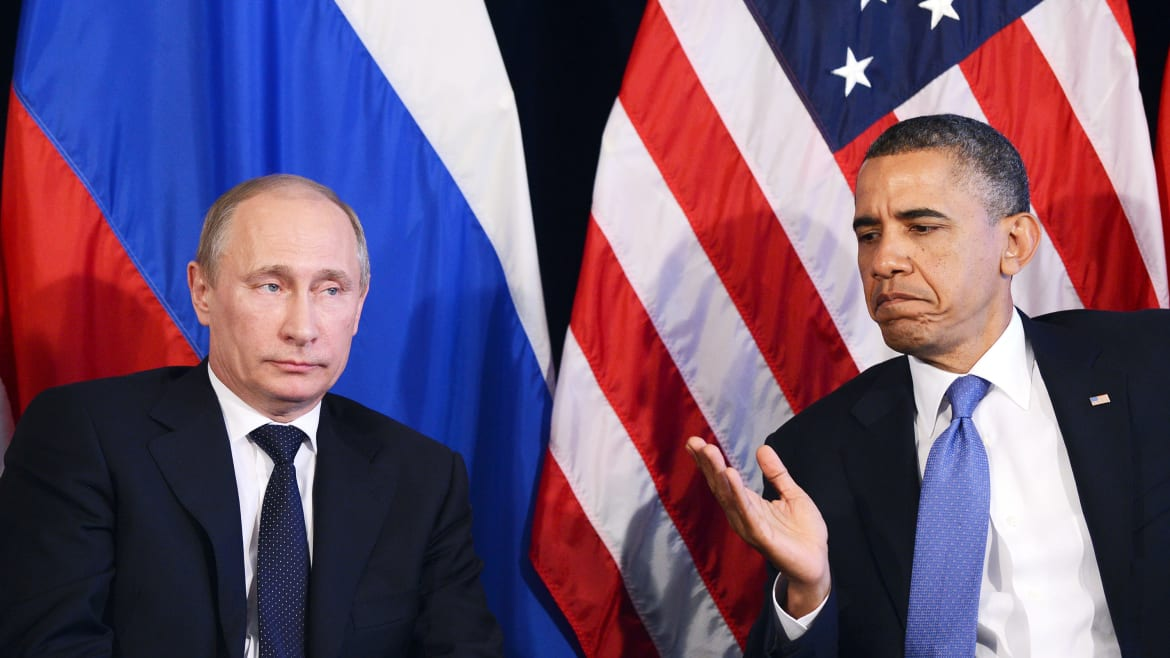 Russia Hacked the Election, Trump Hacked Team Obama's Brains