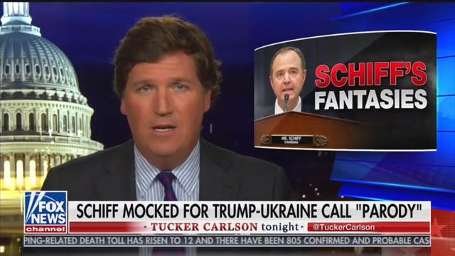 Tucker Carlson: Adam Schiff Is 'Clearly, Demonstrably Mentally Ill'