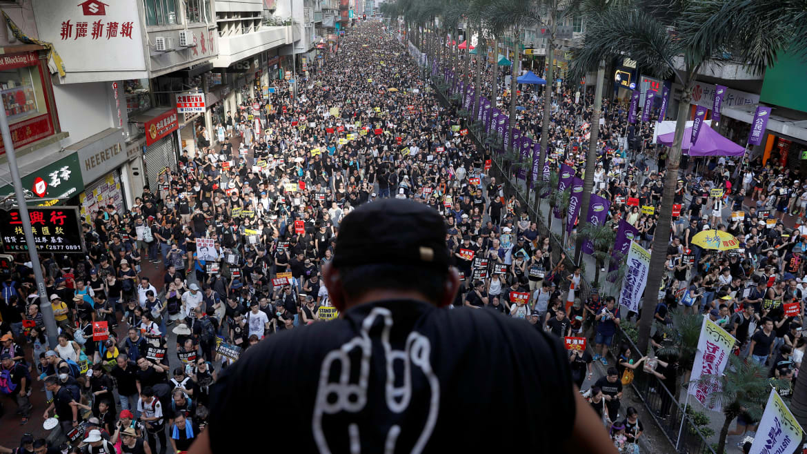 Protesters Seize Hong Kong Legislature and Raise—Now It's China's Move