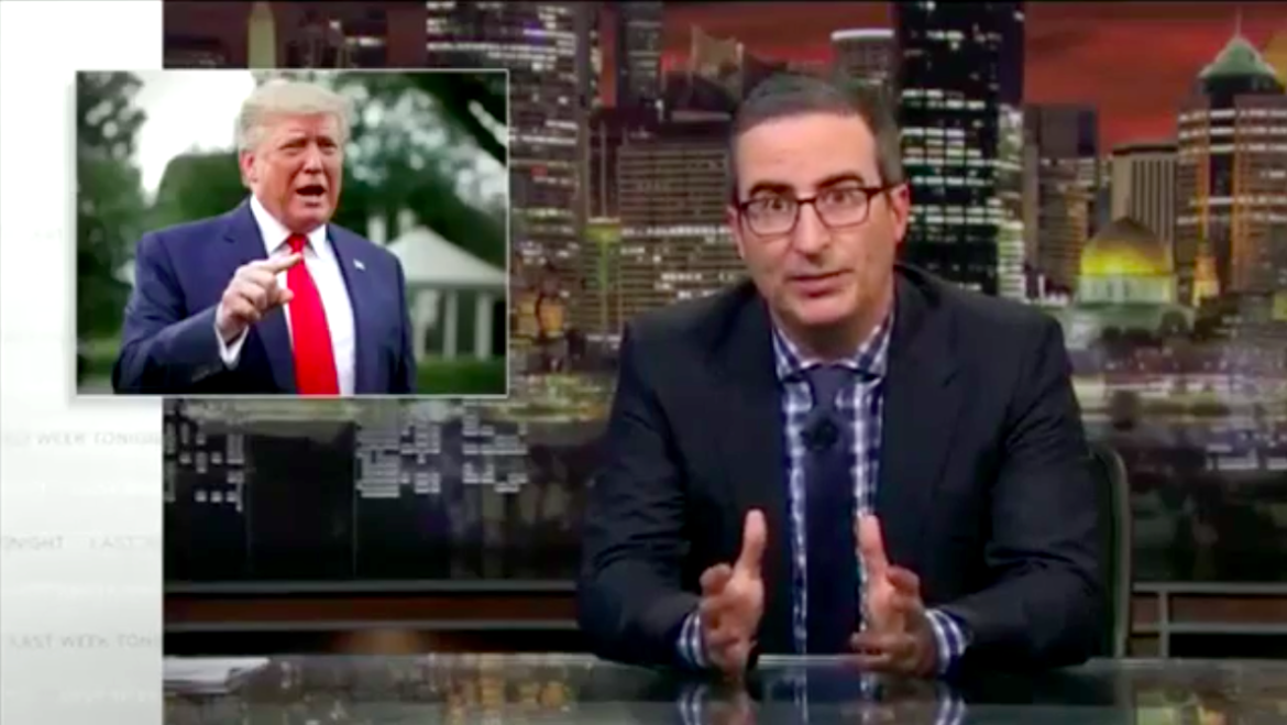 John Oliver Delivers Emotional Plea to Trump and America in Wake of Dayton and El Paso Mass Shootings