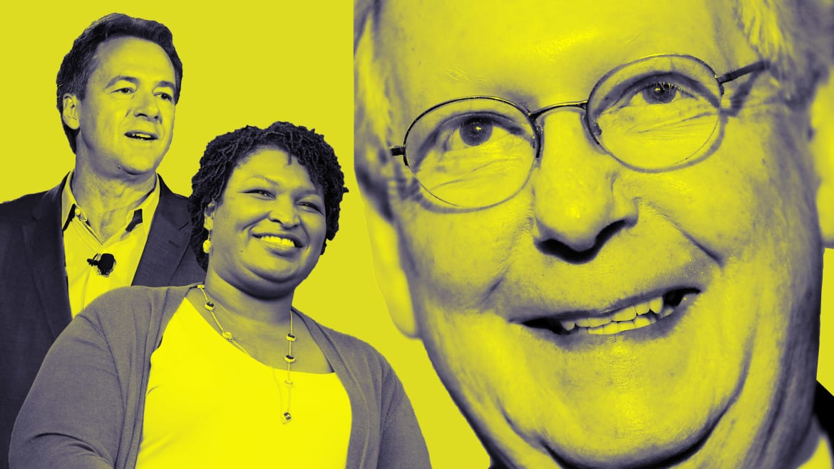Do Stacey Abrams and Steve Bullock Want to Make Mitch McConnell President?