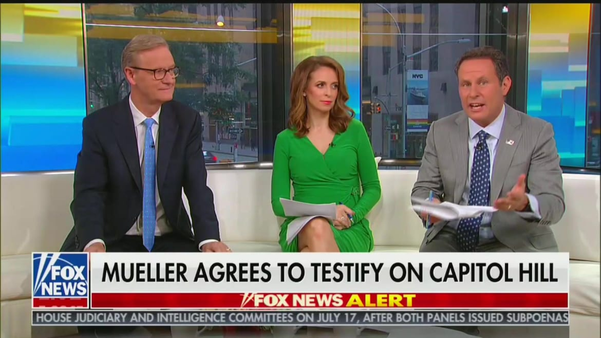 Fox News' Brian Kilmeade: 'I Don't Think' Mueller 'Knows the Details' of His Own Report