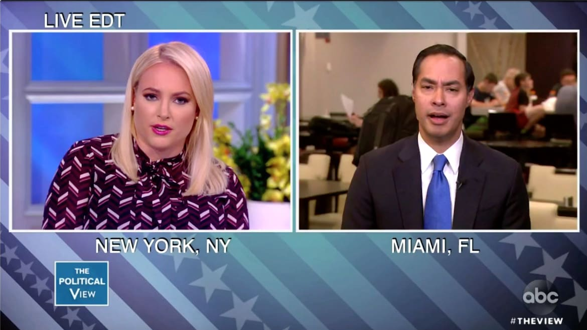 Meghan McCain Complains Too Much Spanish at Debate, Battles Julián Castro on 'Open Borders'