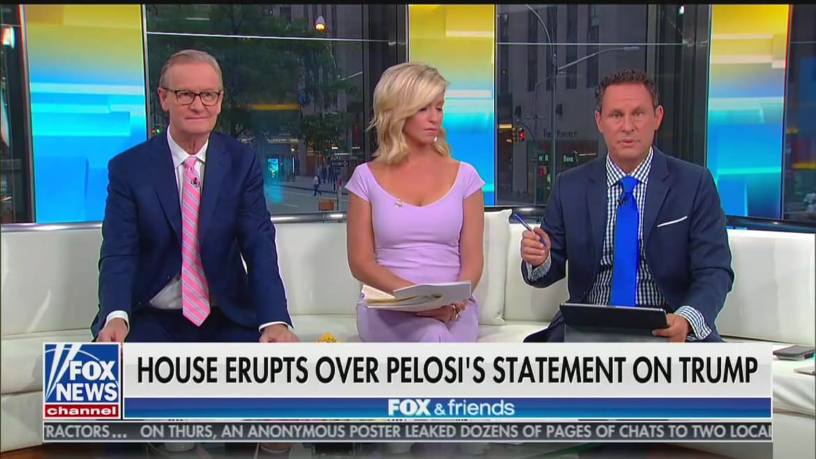 Fox News' Brian Kilmeade Complains That Calling Trump a Racist 'Is Personally Offensive'
