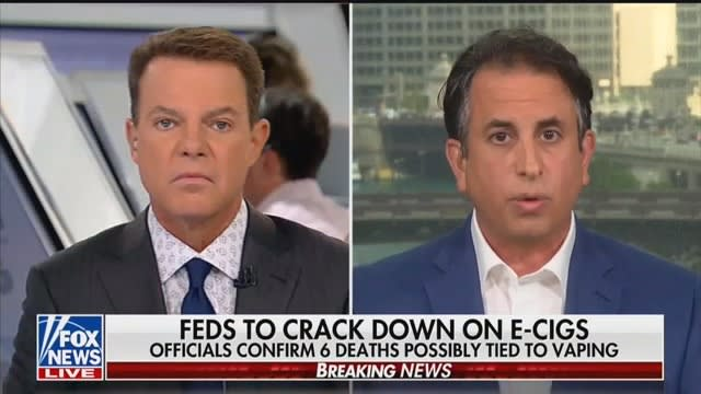 Shep Smith Skewers Vaping Lobbyist: 'Weren't the Flavors Marketed to Kids?'