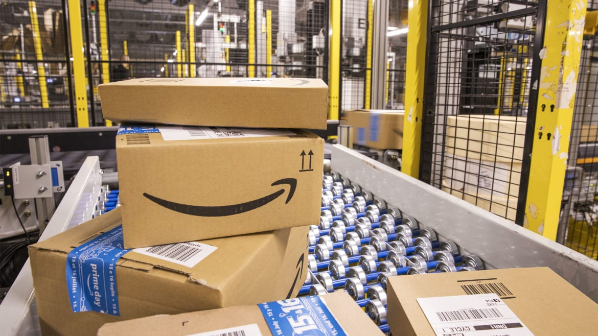 Amazon Warehouse Workers Walk Out on Prime Day