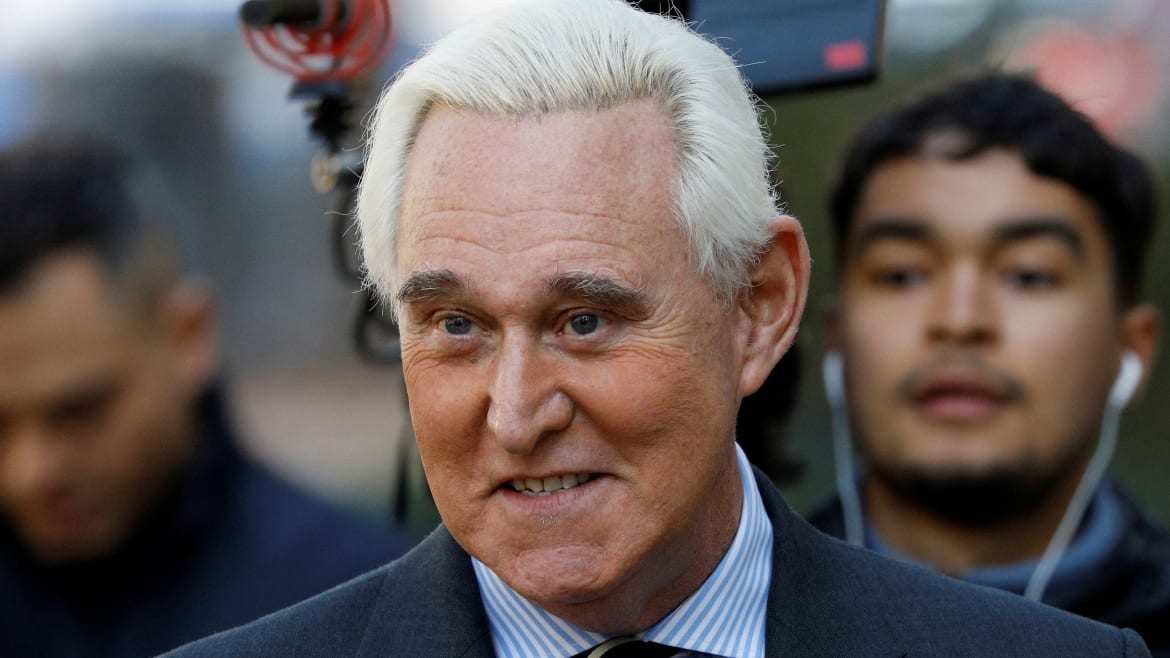 Prosecutors Quit After DOJ Says It Will Override 'Excessive' Sentencing Guideline for Roger Stone