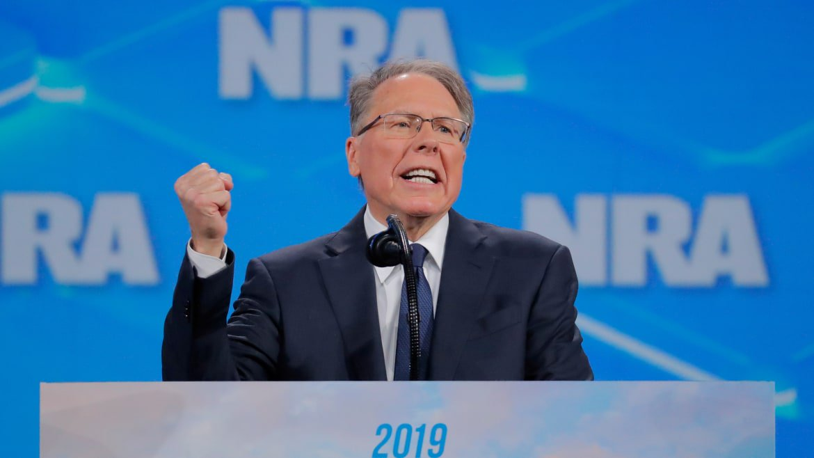 NRA's Former Ad Firm Slaps Wayne LaPierre With Subpoena