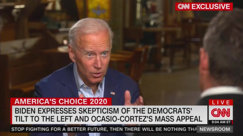 Biden Brushes Off Alexandria Ocasio-Cortez as Too Far Left: 'Mainstream Democrats' Won in the Midterms