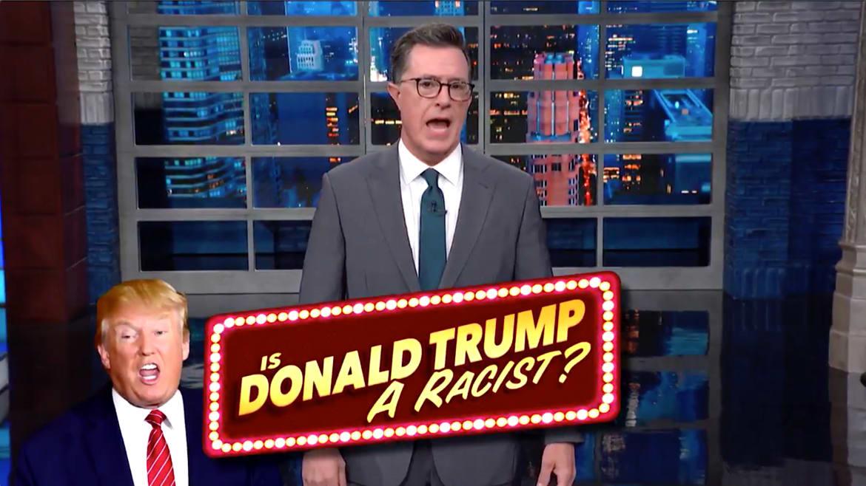 Stephen Colbert Exposes Trump's 'Racist' Hypocrisy on Baltimore and Rep. Elijah Cummings