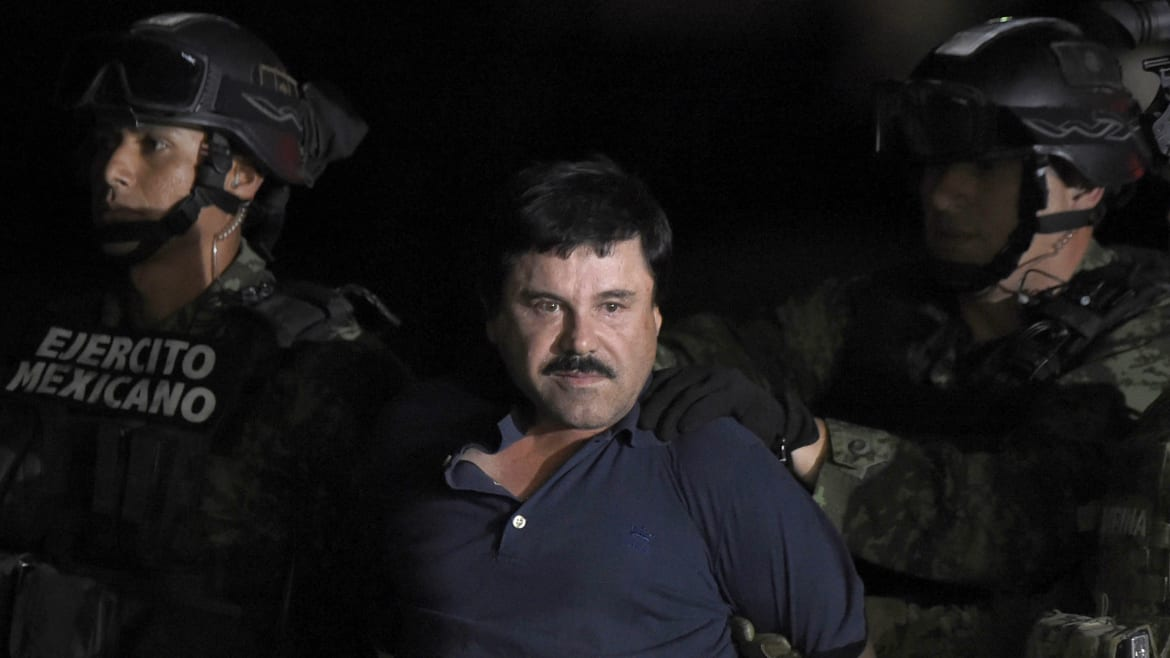 El Chapo Cries 'There Was No Justice' While Being Sentenced to Life in Prison