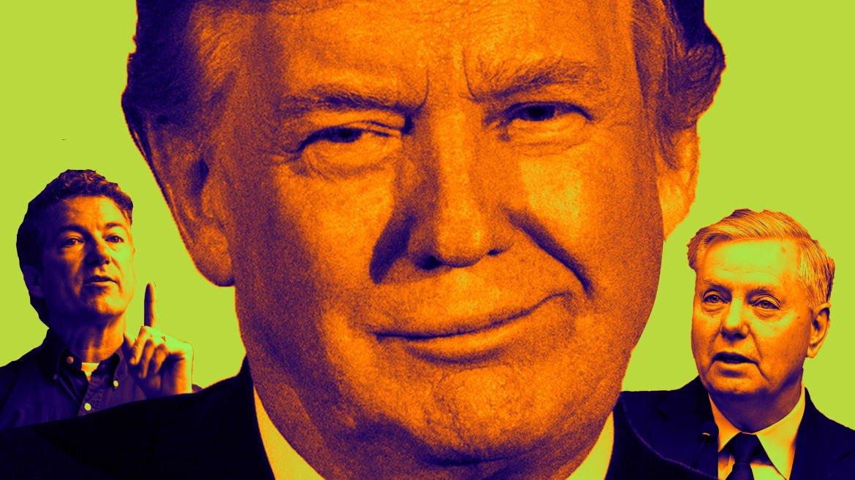 How Trump Broke In Lindsey Graham, Marco Rubio, Rand Paul, and Ted Cruz